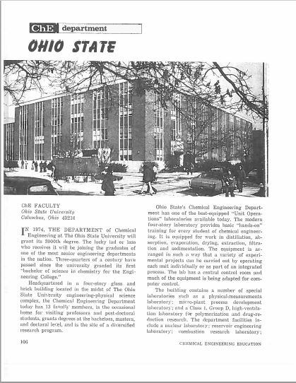 1974 Faculty Bulletin