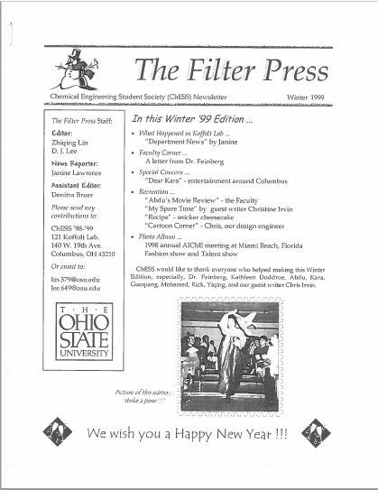 1999 Filter Press