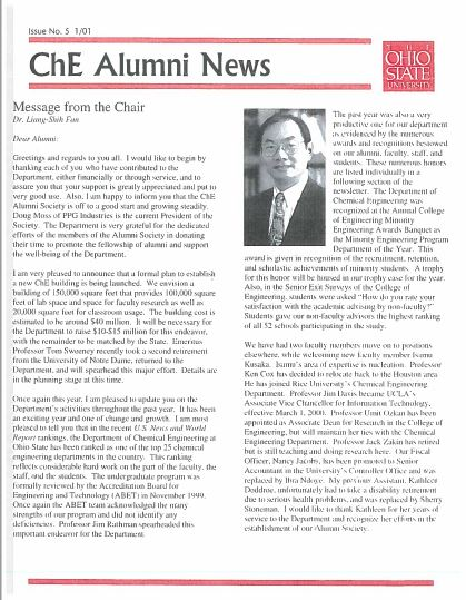 2001 News