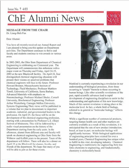 2003 News