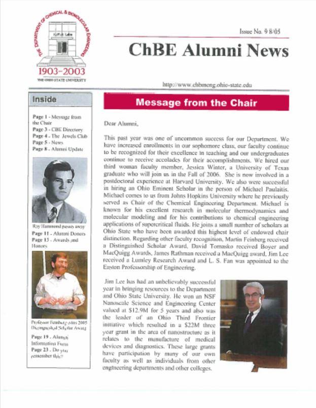 2005 News